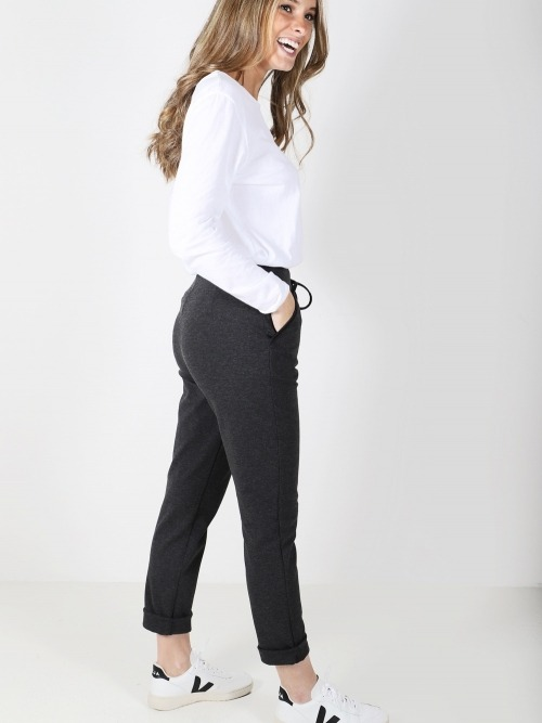 Pantalon bolsillos trendy mujer