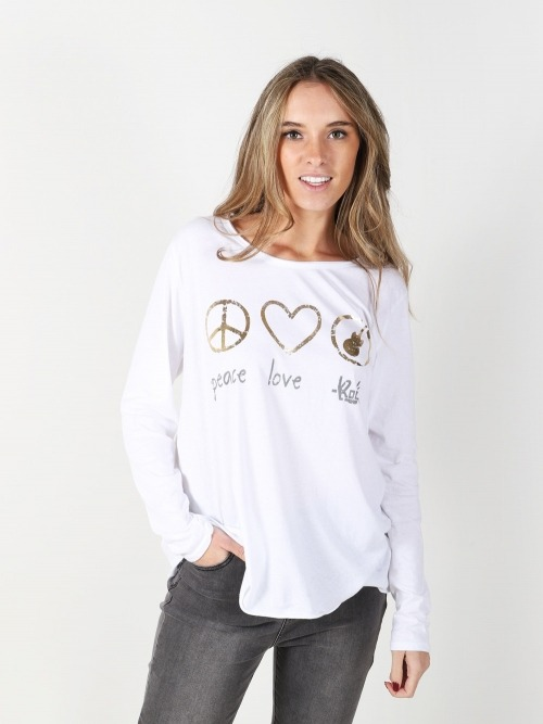 Camiseta aldodon mensaje