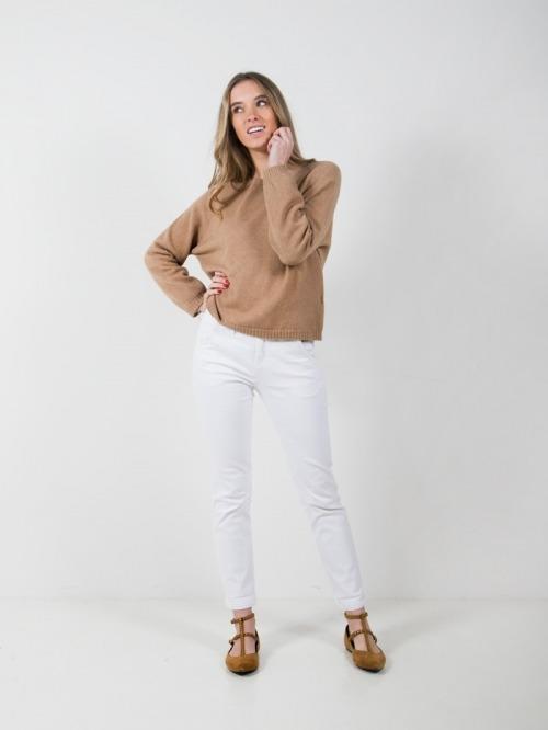 Jersey punto corto mujer