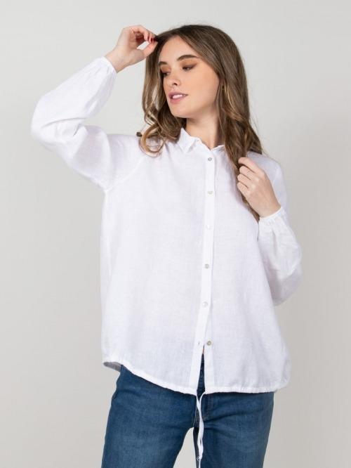 Roser linen shirt White