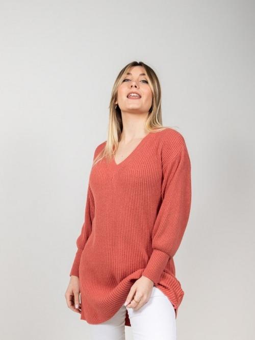 Glitter knit dress Tile