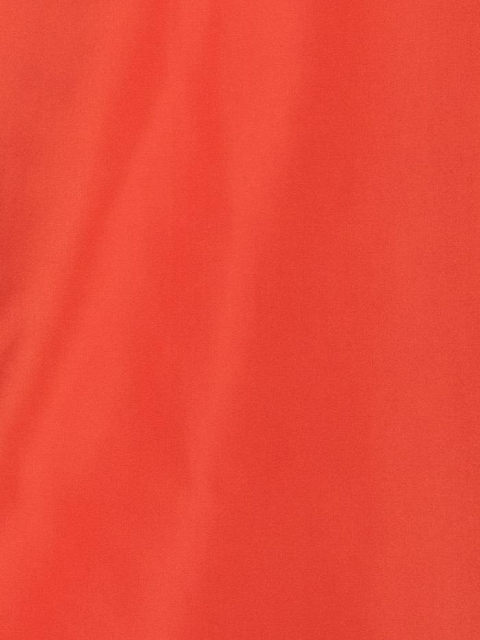 Woman Woman Lightweight waterproof trench coat Red