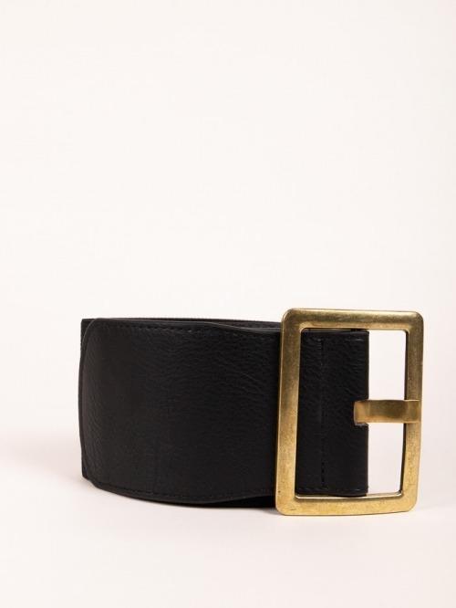 Cinturón maxi elástico mujer Negro
