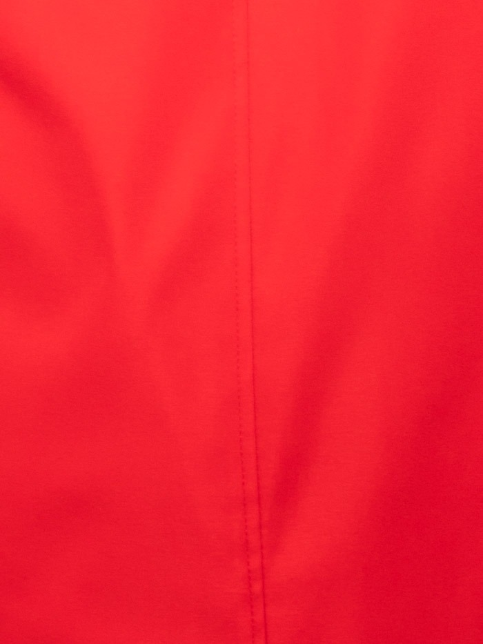 Woman Woman Parka with zipper Red