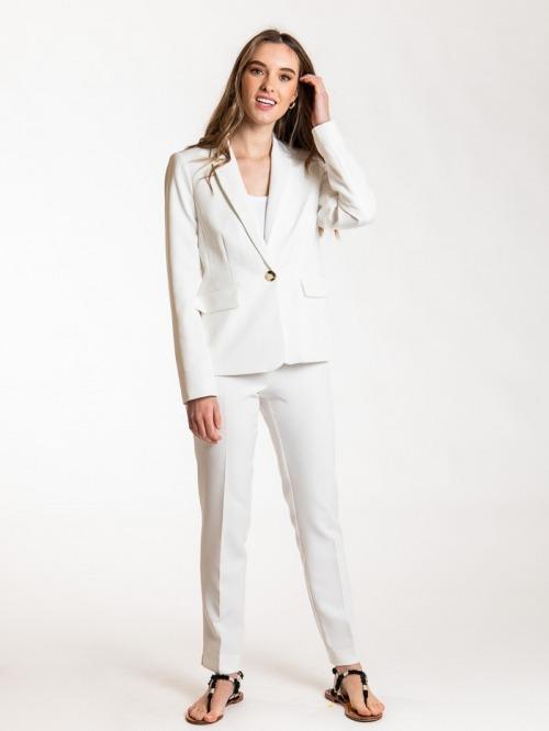 Essence plain blazer Crudo