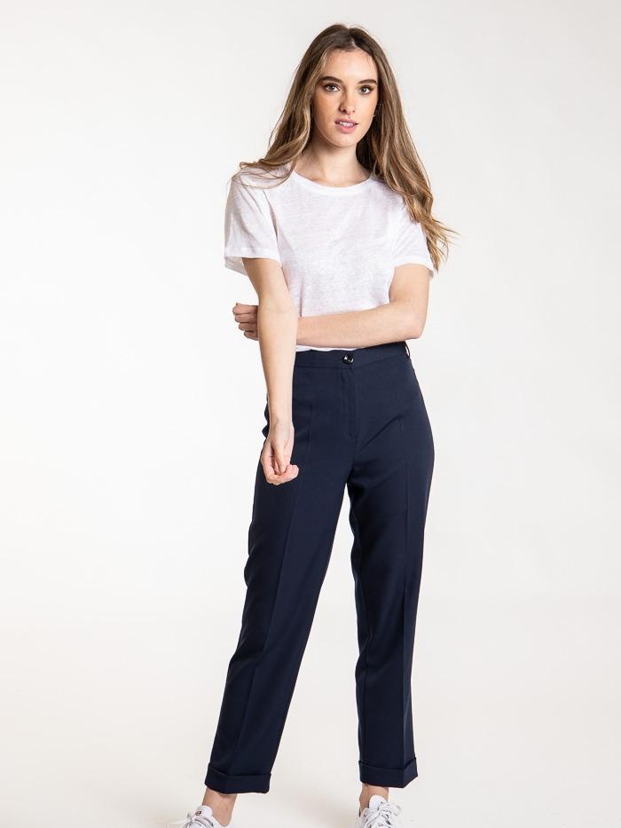 Capri comfort pants Blue Navy