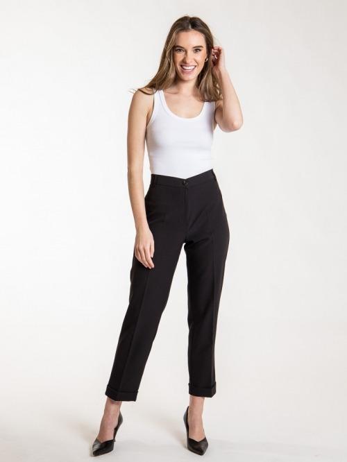 Capri comfort pants Black