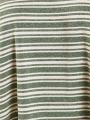 Oversize striped T-shirt Khaki