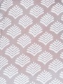 Printed cotton blouse details Grey