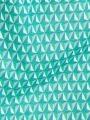 Cotton printed midi dress Green