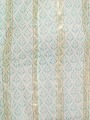 Herringbone print strap dress Aqua