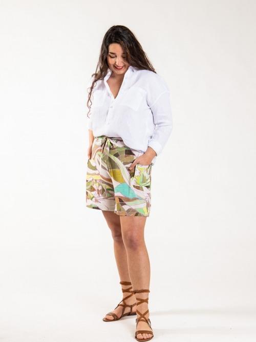 Cargo bermuda shorts Marfil