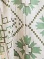Glitter print shirt dress Khaki