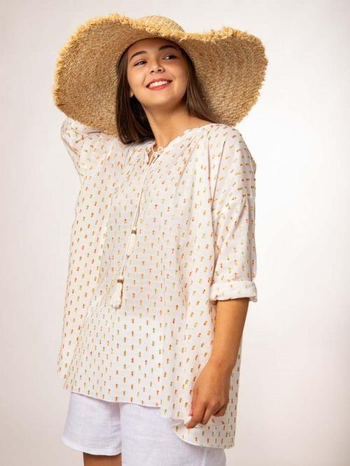 Camisa plumeti Crudo
