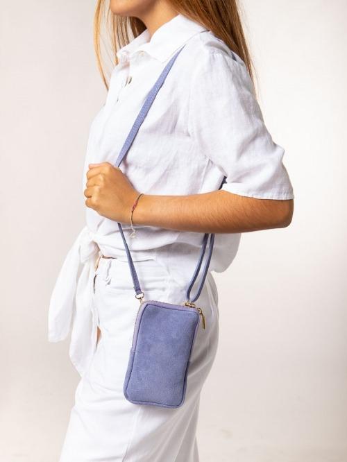 mobile bag Lila