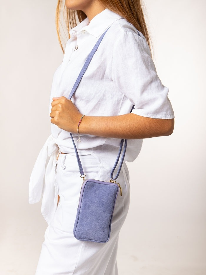 mobile bag Lila