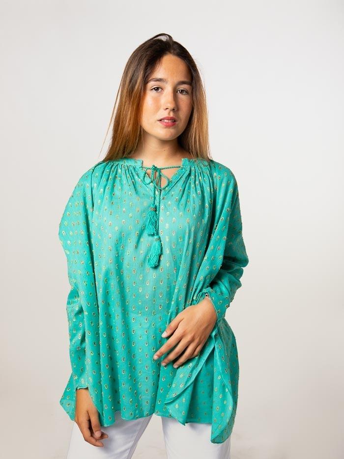 Camisa plumeti Turquesa