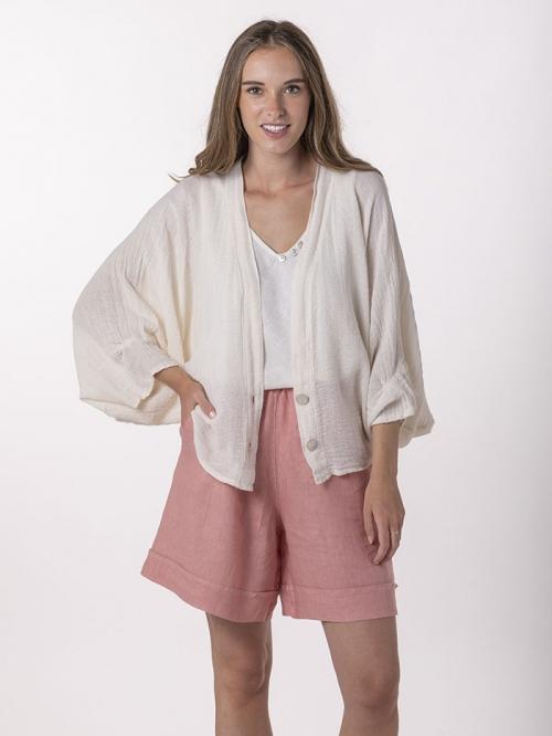 Women linen jacket Marfil