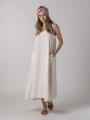 Long linen dress Marfil