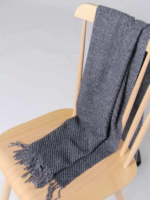 Bigoré pleated scarf Grey