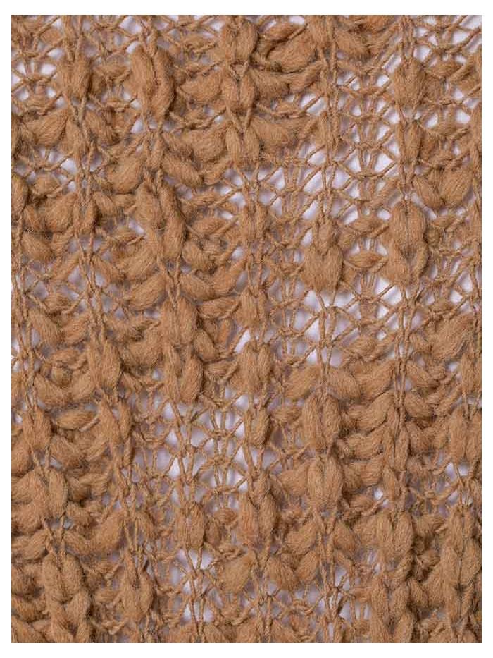 Woman Herringbone wool jacket Camel