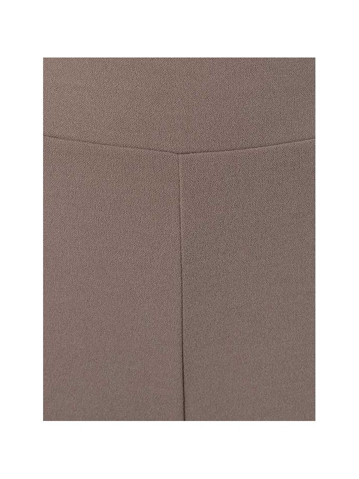 Pantalón ancho elástico bolsillos Piedra