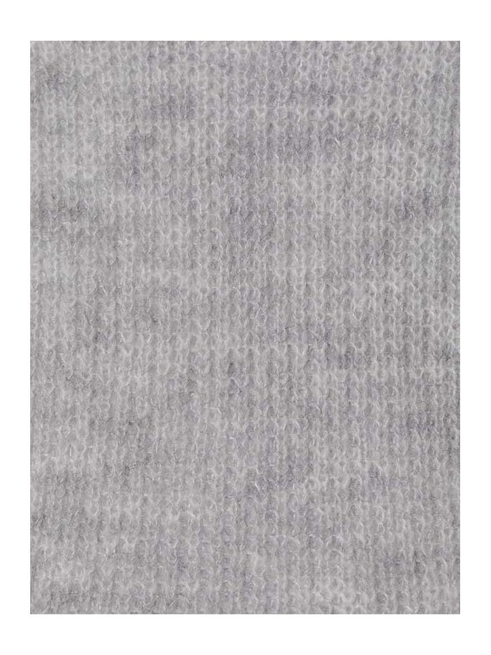 Woman Woman Herringbone knit sweater Grey