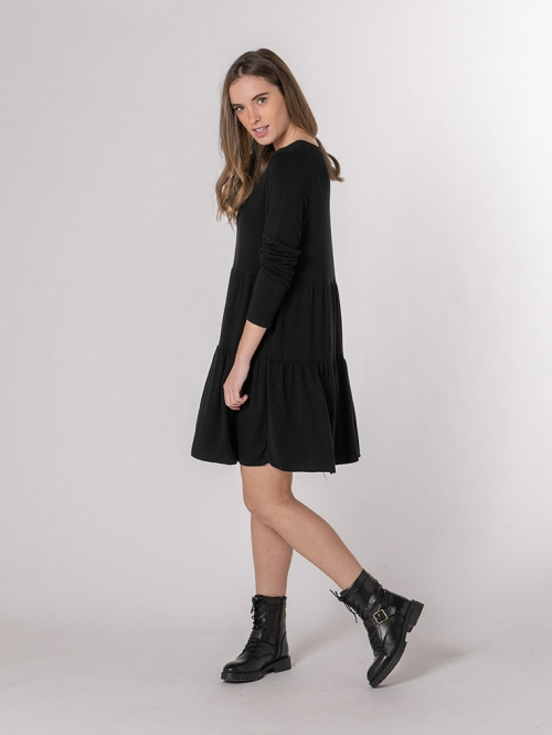 Bigore knit dress Black