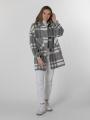 Special check coat Grey