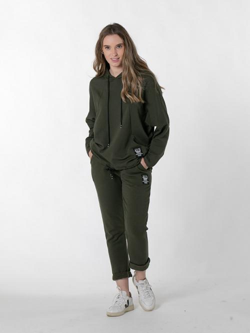 Pantalón sport algodón organico Caqui