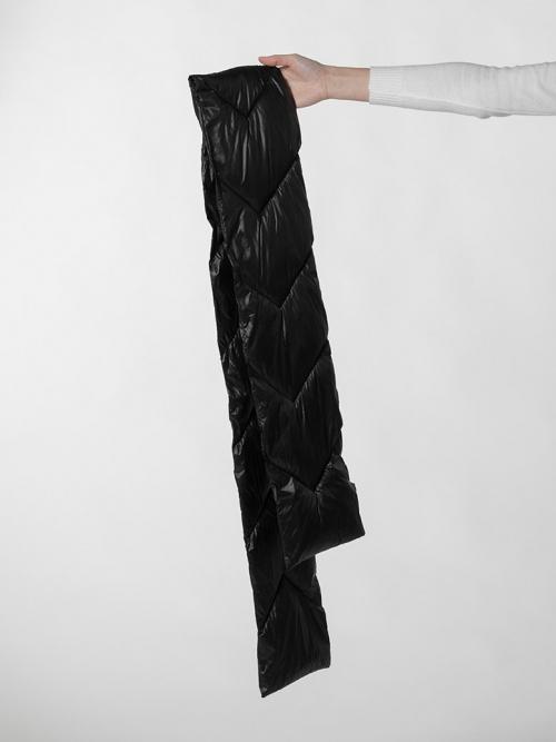 Cuello acolchado mujer Negro