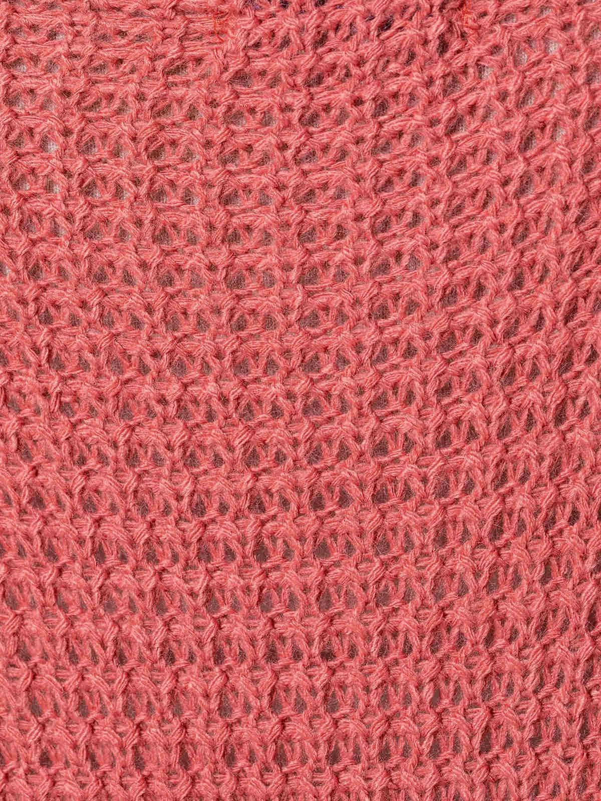 Jersey mujer punto diseño curvy Teja