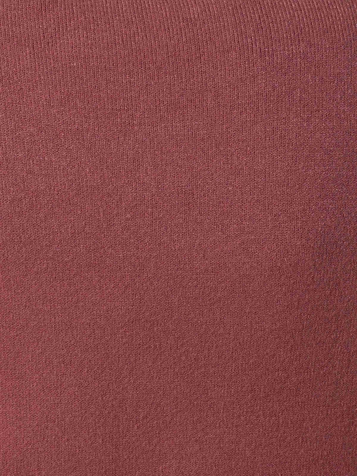 Jersey punto mujer cuello redondo Rosa