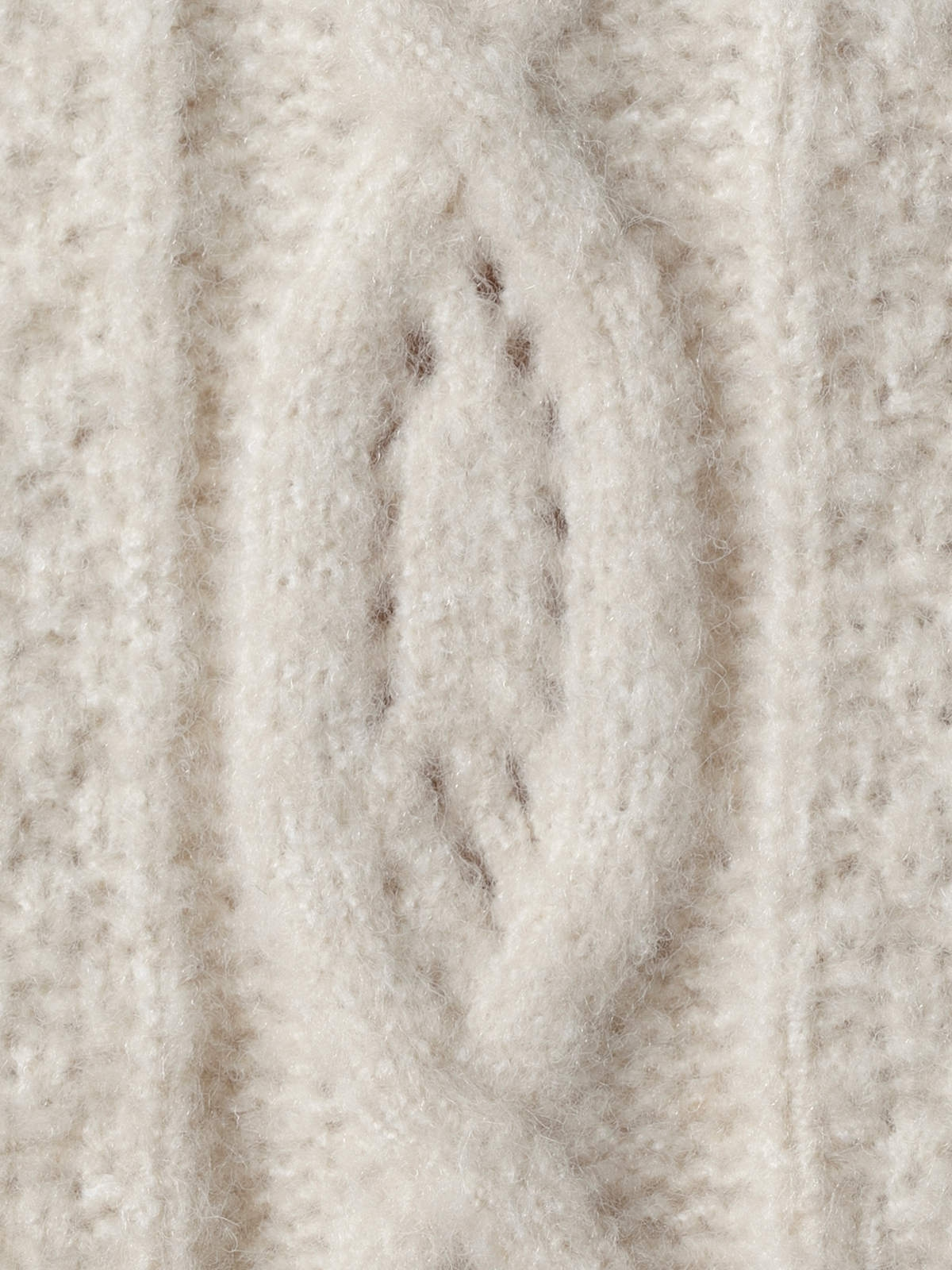 Jersey punto manga especial Beige