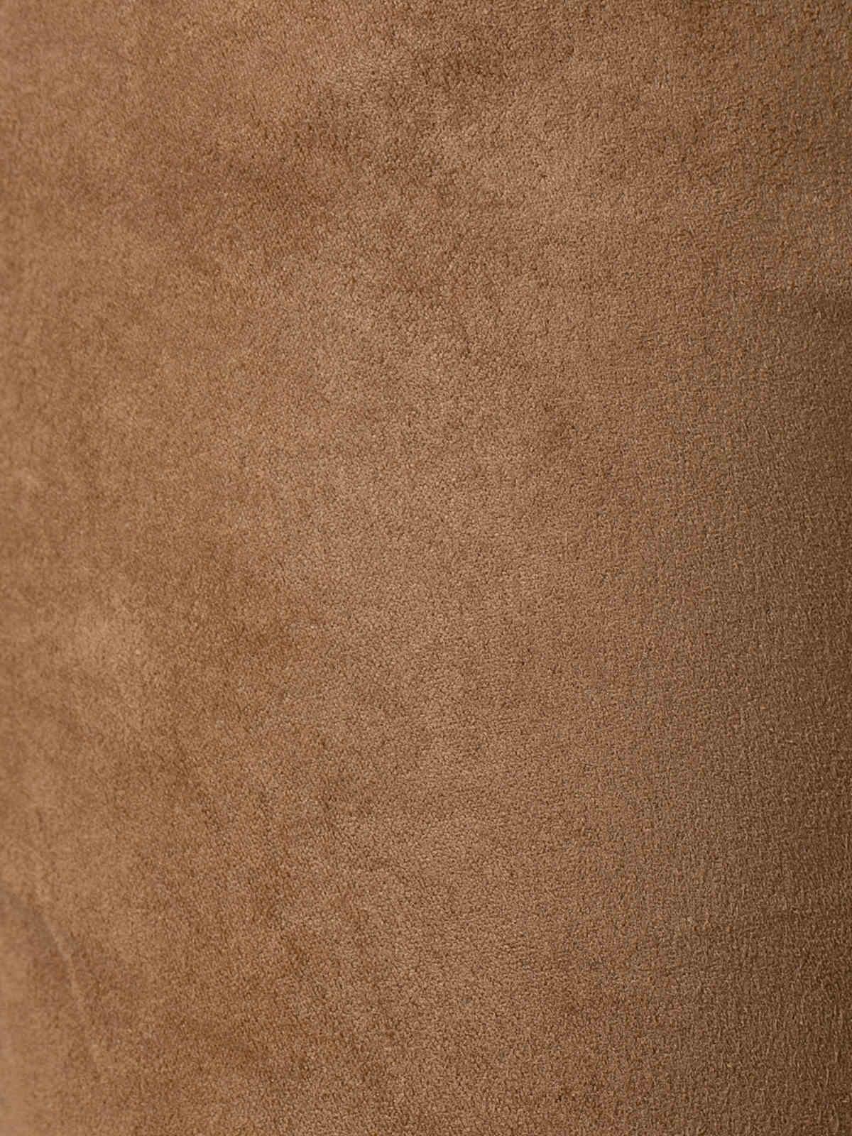 Pantalón mujer sport goma tinte ecológico Camel