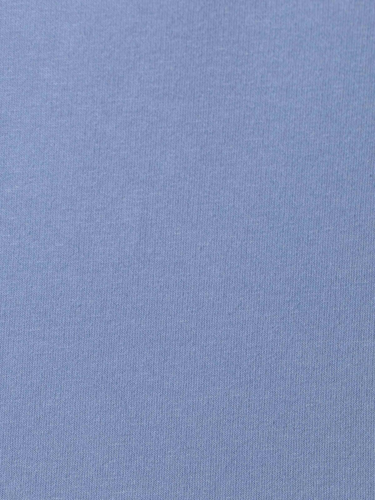 Sudadera mujer bolsillos detalle ajustable en bajo Azul