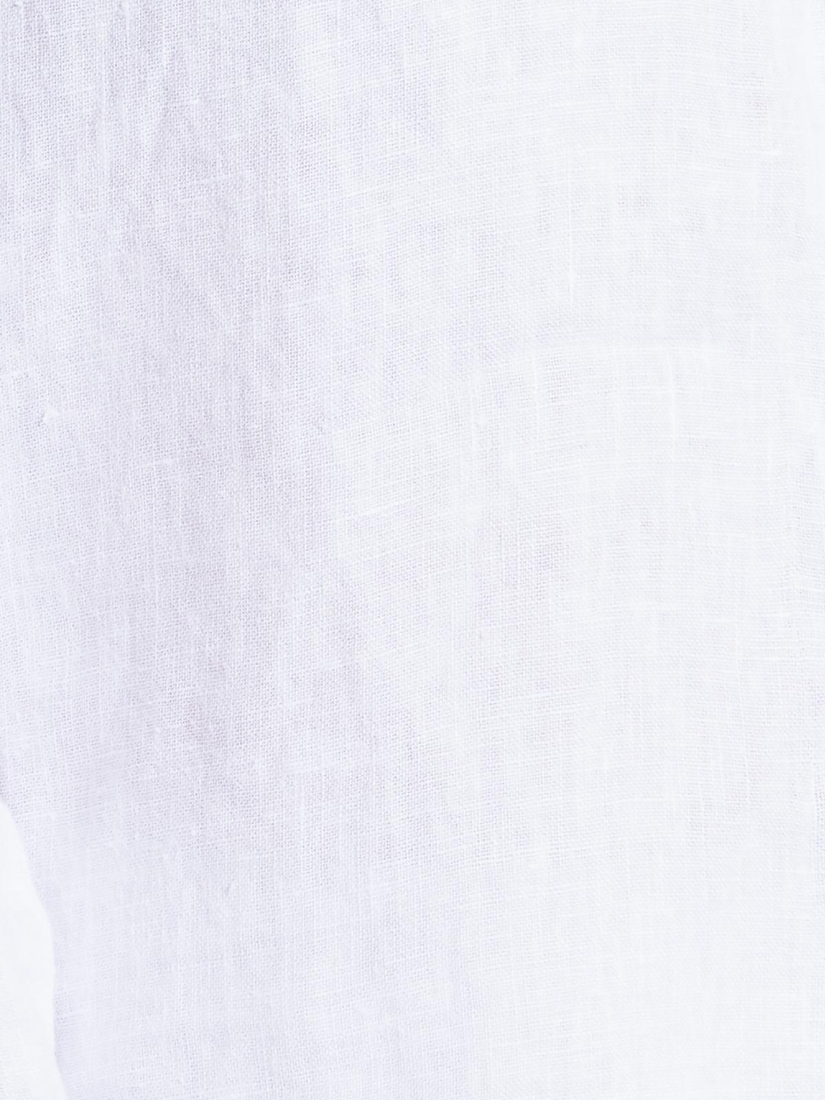 Camisa lino mujer kim Blanco