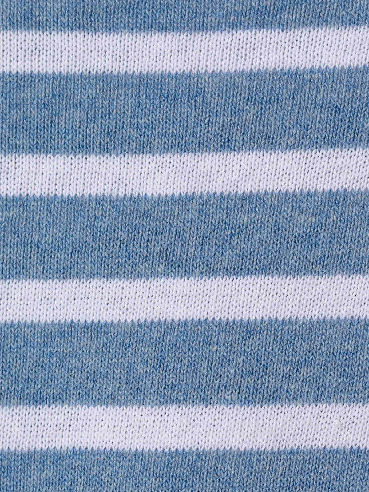 Jersey mujer fino de rayas Azul