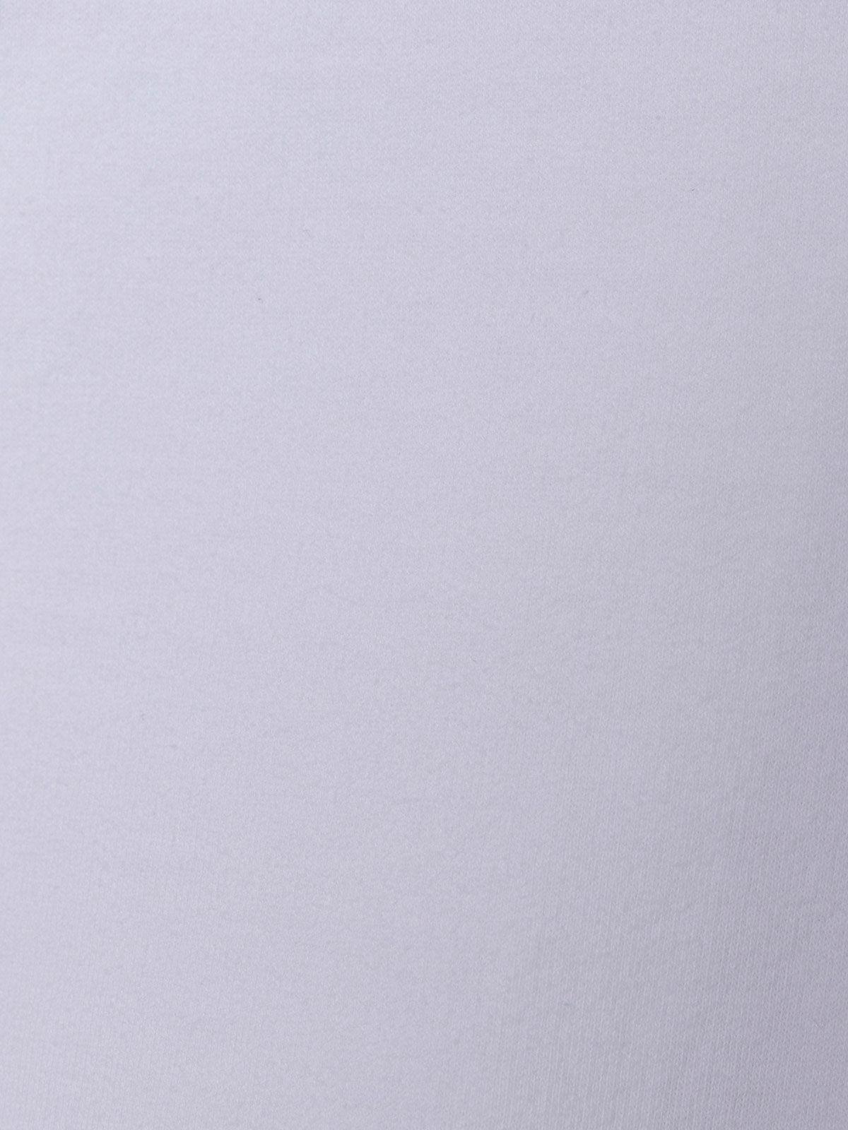 Sudadera mujer bolsillos detalle ajustable en bajo Blanco