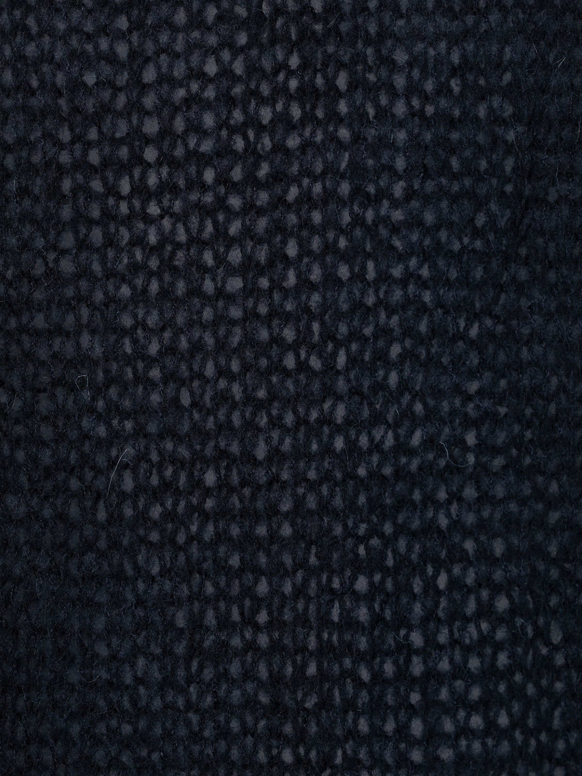 Chaqueta mujer de punto bolsillos cenefa Azul Marino
