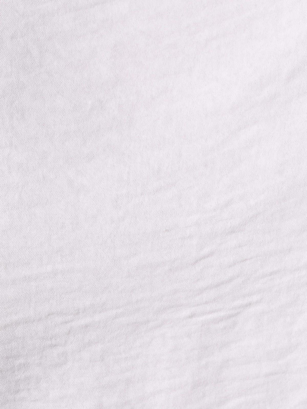 Blusa mujer fluida detalle en bajo Blanco