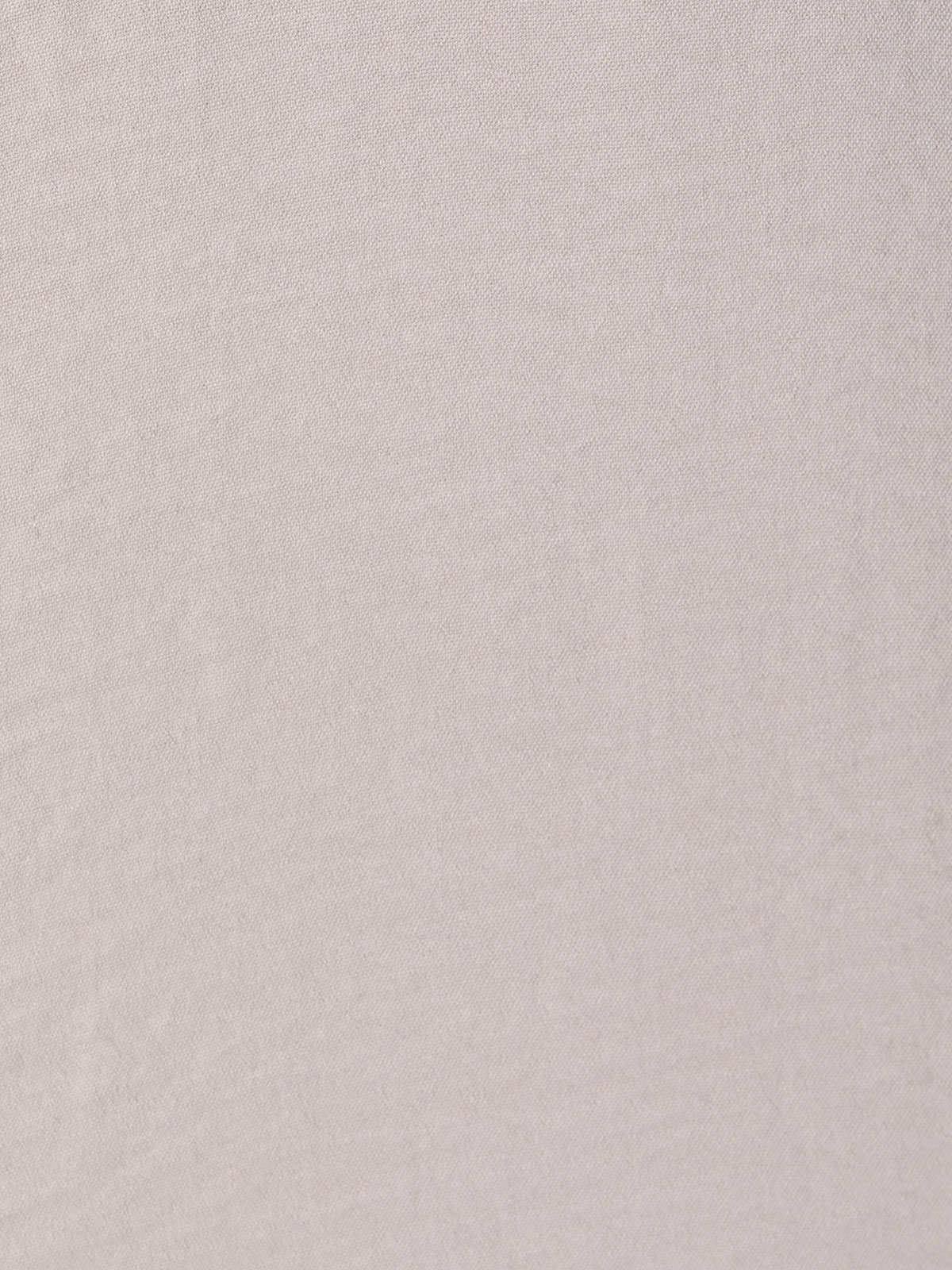 Camisa fluida mujer detalle cordón Beige