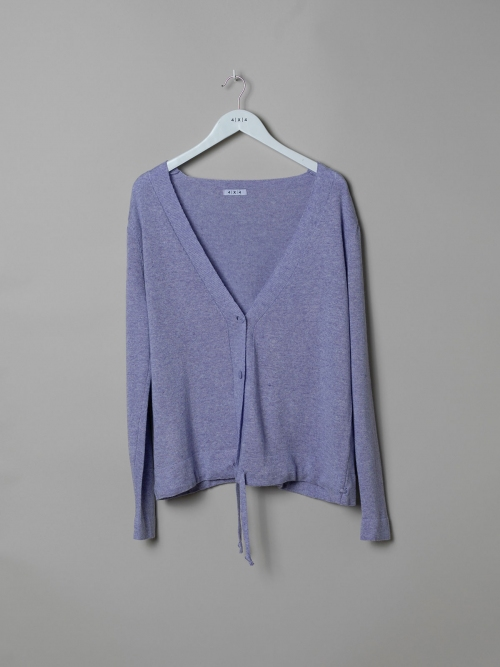 Woman Fine knit jacket with adjustable buttons Lila
