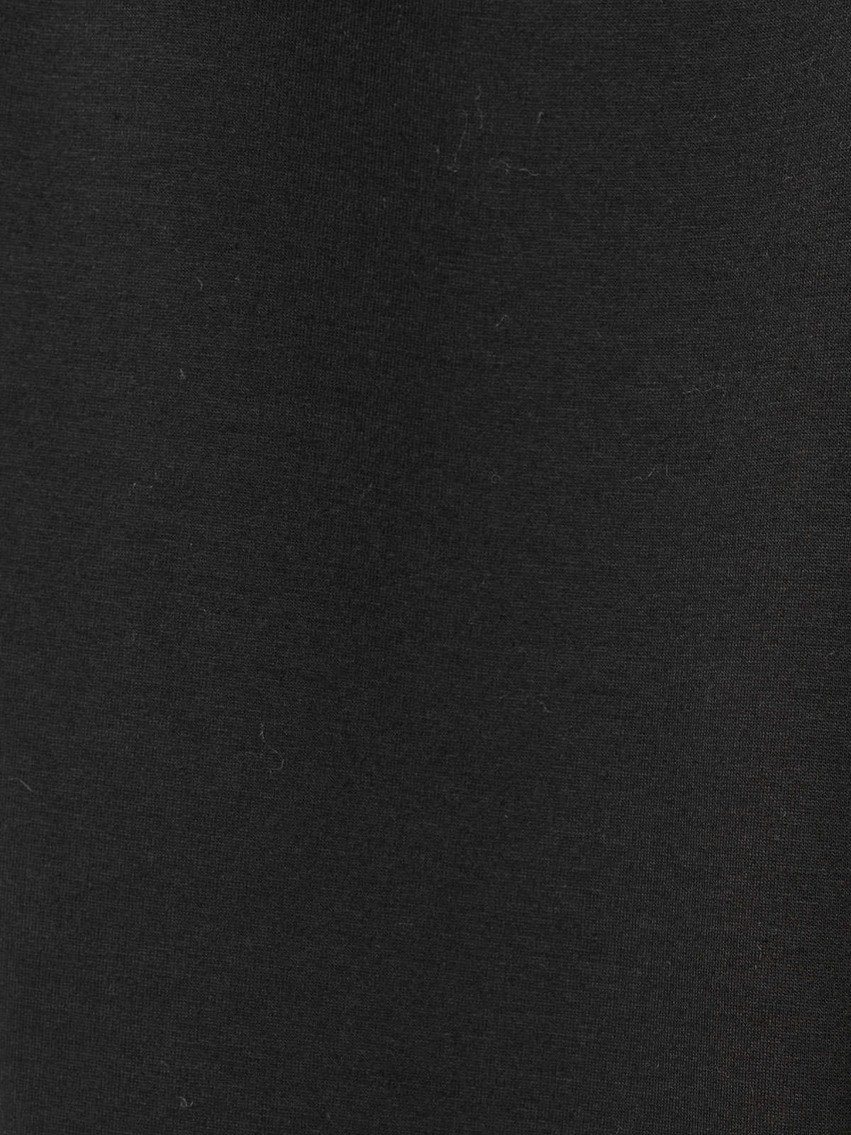 Woman Pantalón jogger detalle en bajo Black