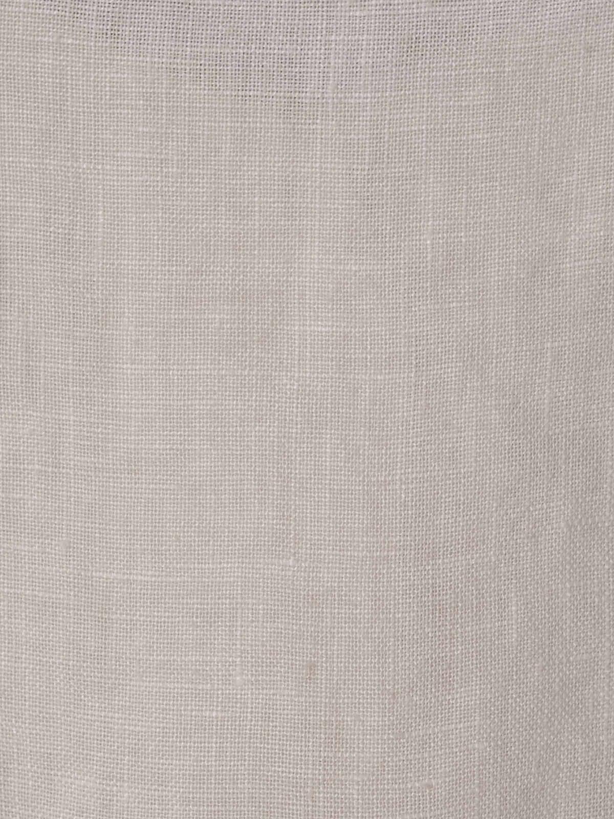 Camisa de lino mujer cuello mao Blanco