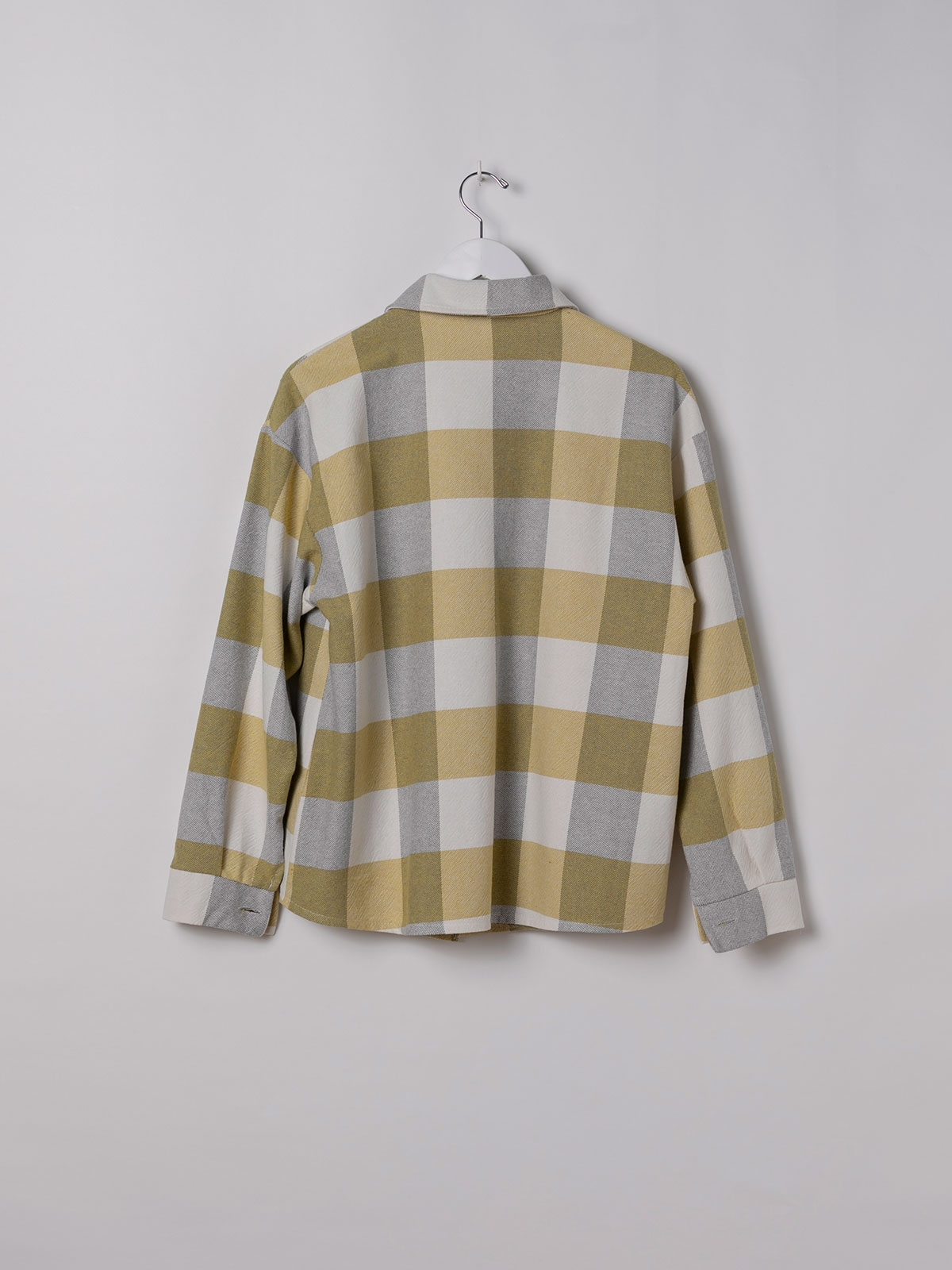 Woman Checked shirt with 2 pockets Amarillo