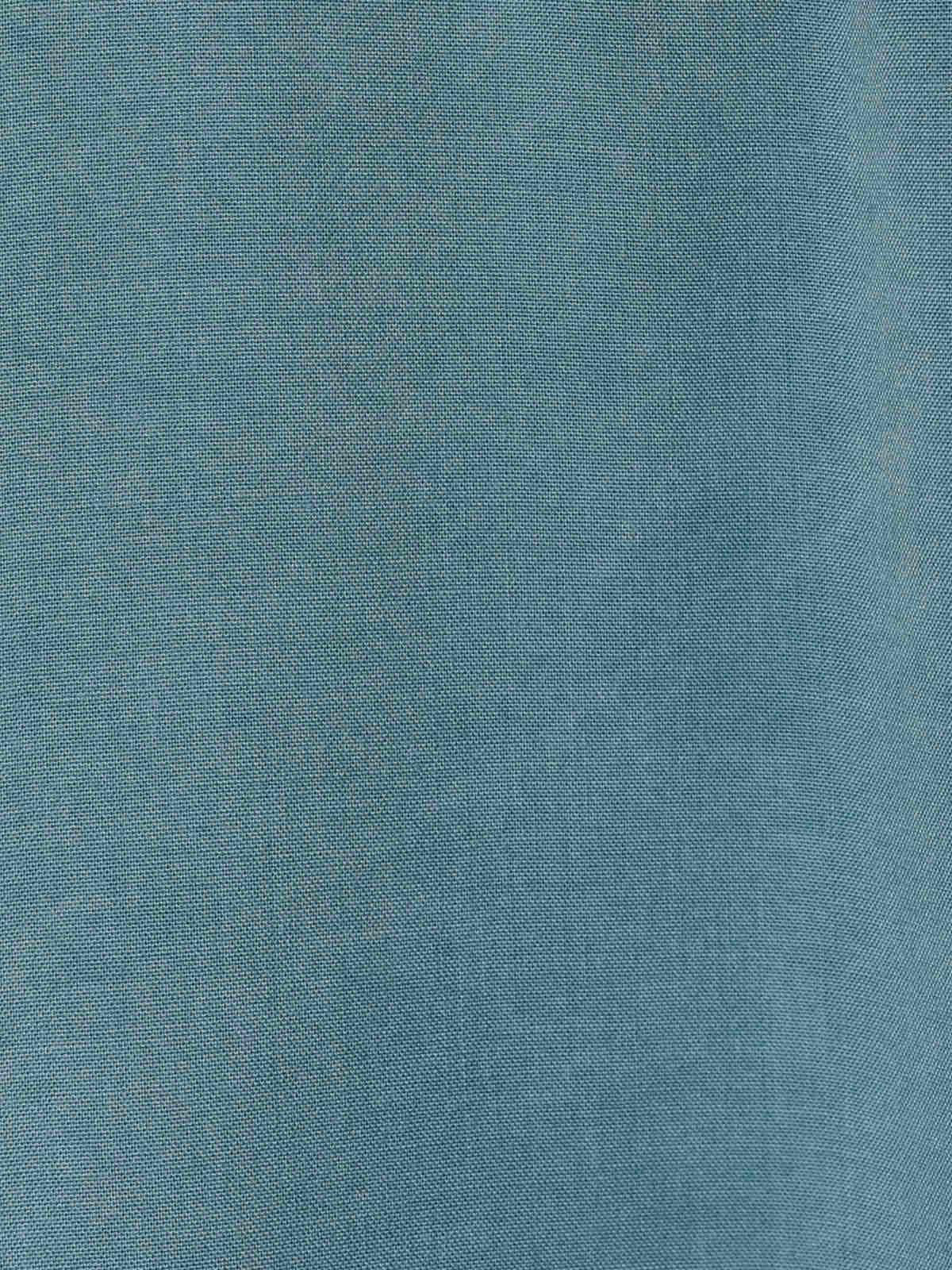 Top básico mujer fluido ecowash Azul