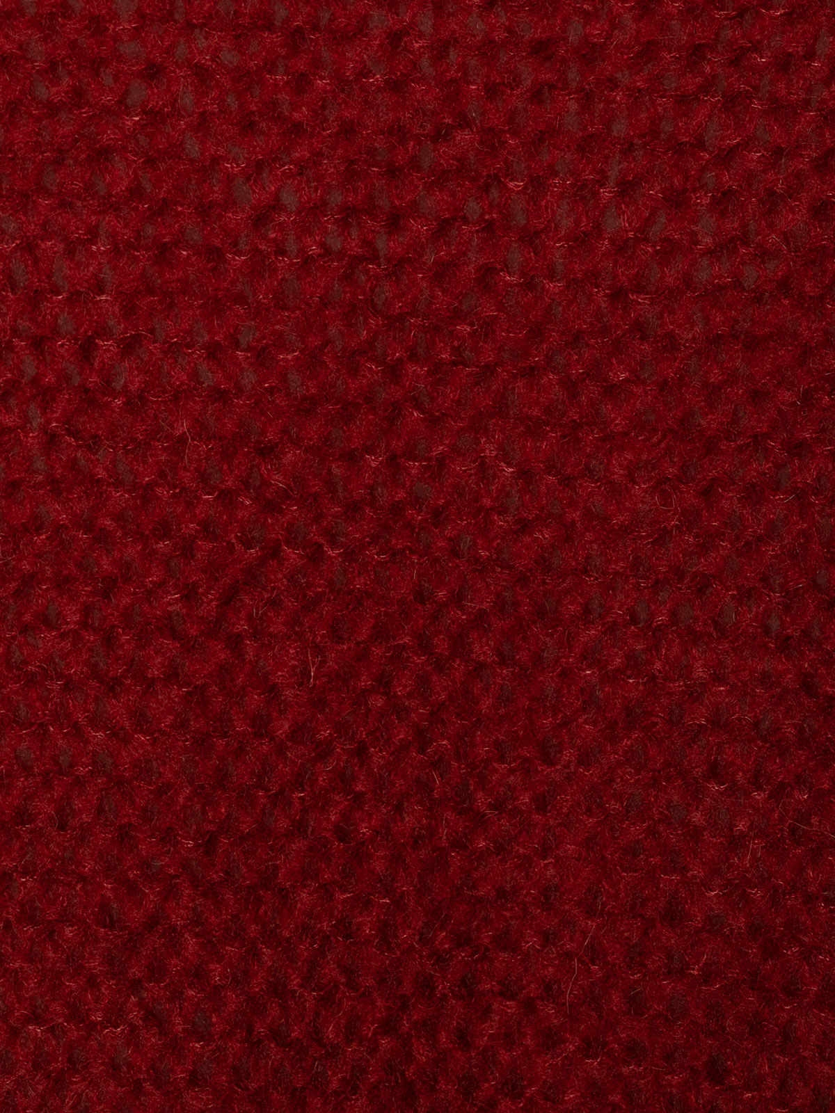 Chaqueta mujer de punto bolsillos cenefa Rojo