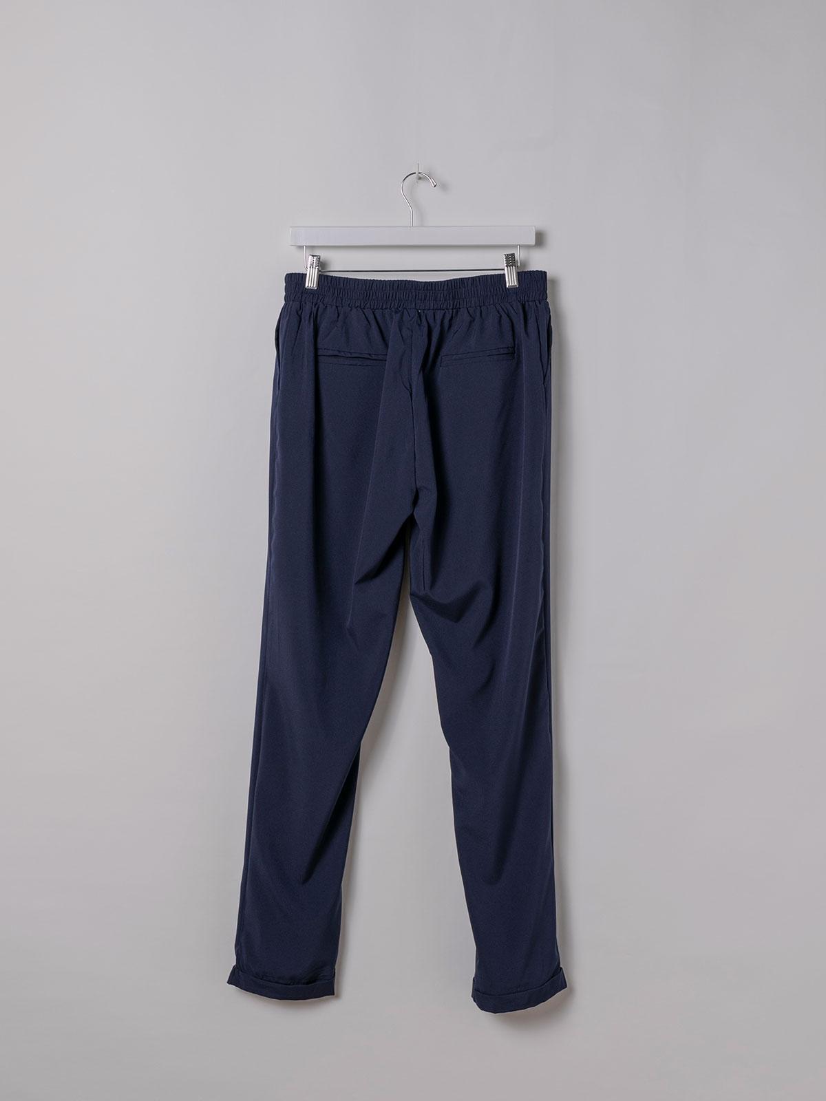Woman Woman Plain comfort trousers Blue Navy