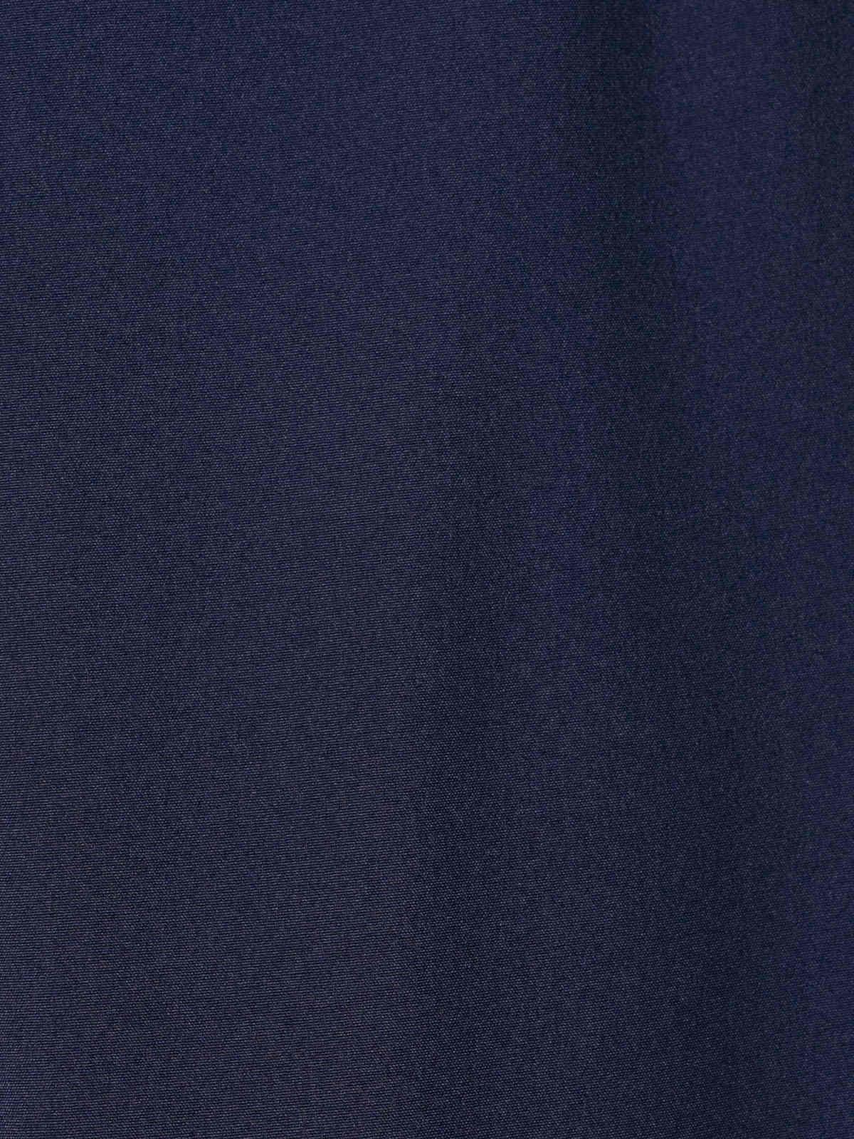 Woman Plain comfort trousers Blue Navy